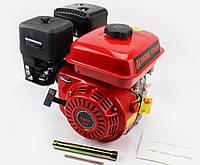 TATA- Двигатель мотоблочный в сборе под резьбу М16, фильтр-поролон, 6,5л.с. 168F