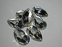 Стрази пришивні Asfour Крапля 28мм. Crystal
