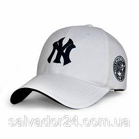 Бейсболка NY белая, кепка New York