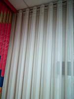 Вертикальные жалюзи-тюля  noblesse в Украине  производство под заказ