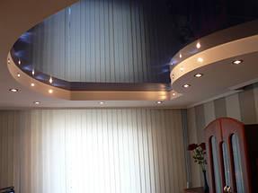 Натяжные потолки спальная. 1
