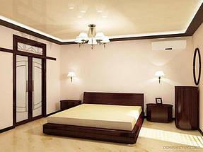 Натяжные потолки спальная. 3