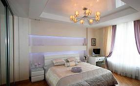 Натяжные потолки спальная. 4