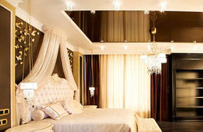 Натяжные потолки спальная. 8