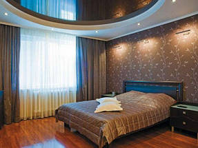 Натяжные потолки спальная. 9