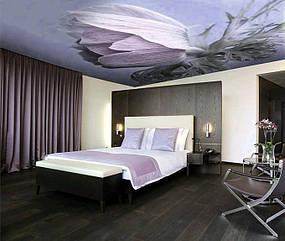 Натяжные потолки спальная. 12