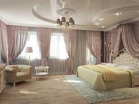 Натяжные потолки спальная. 13