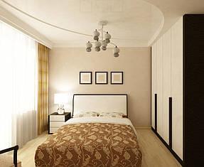 Натяжные потолки спальная. 23