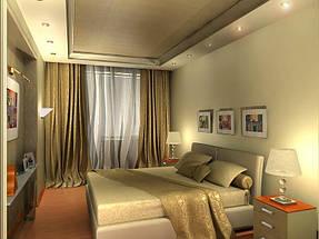 Натяжные потолки спальная. 24
