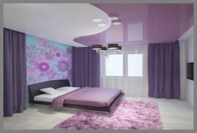 Натяжные потолки спальная. 31