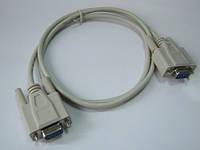 Нуль модемный кабель RS232 1,5м