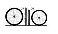 Размер колес велосипеда по росту. 26 vs 29. Преимущества и недостатки.