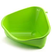 Moderna (Модерна) Петс Корнер туалет угловой для грызунов большой 49х34,6х026 см