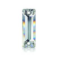 Стрази пришивні Asfour Багет 18мм. Crystal