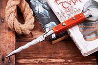 Дизайнерский нож выкидной с необычным формой лезвия (170201-34)