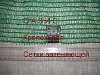Клипсы для крепления сетки пластиковые TENAX