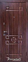Двери квартирные, серия Люкс, модель Монарх, гнутый профиль, коробка 100 мм, полотно 76 мм, Гардиан 1001