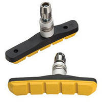 Колодки Тормозные MTB V-Br. Jagwire Basics Comp Mountain Xc Js908T-Y - Yellow (кантилеверные) (Brs-10-22)