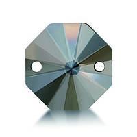 Стрази пришивні Asfour Октагон 12мм. Crystal