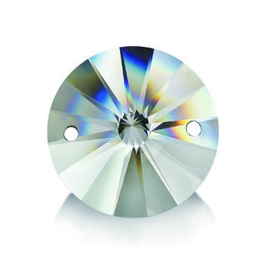 Стразы пришивные Asfour Круги 14мм. Crystal