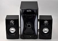 Сабвуфер акустическая система 2.1 Era Ear E-112 40 Вт колонки для дома Bluetooth USB SD-card