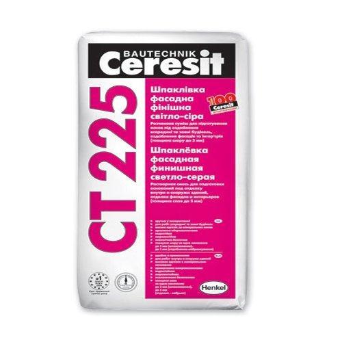 Фасадная шпаклевка Церезит СТ 225 (Ceresit CT 225) 25 кг (белая)