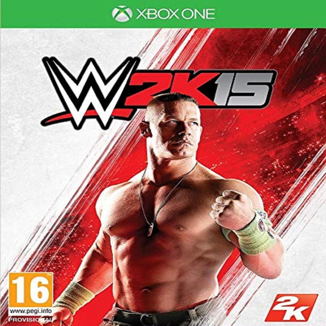 WWE 2K15 ENG XBOX ONE (Б/В)