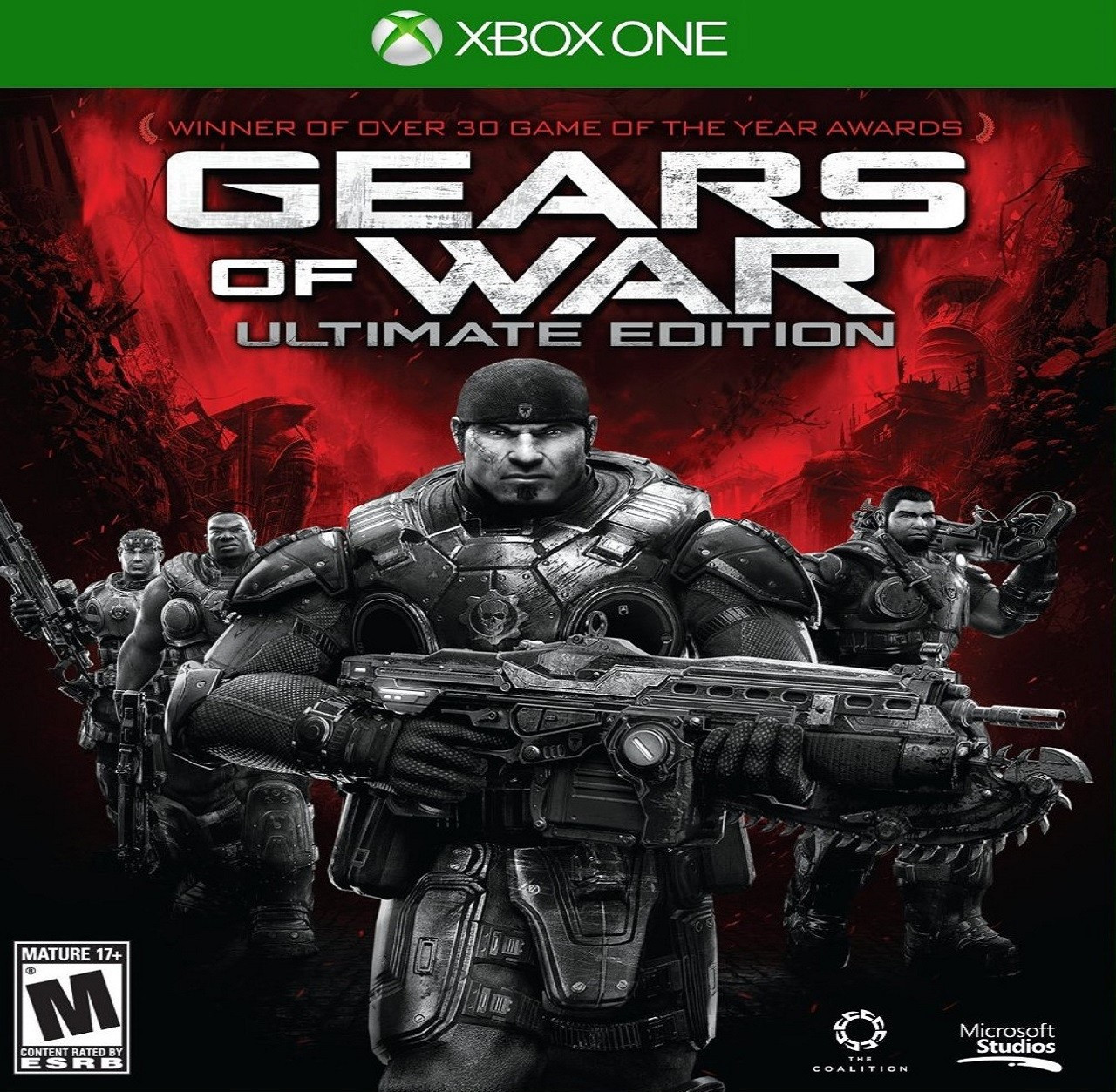 Gears of War:Ultimate Edition RUS XBOX ONE (Б/В)