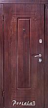 Двери уличные, серия Люкс, VINORIT, модель Гарант, гнутый профиль, коробка 100 мм, полотно 76 мм, Апекс Т-52