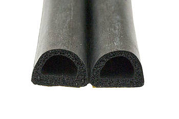 """Ущільнювач PRC - """"D"""" 10 x 12 мм x 50 м чорний"""
