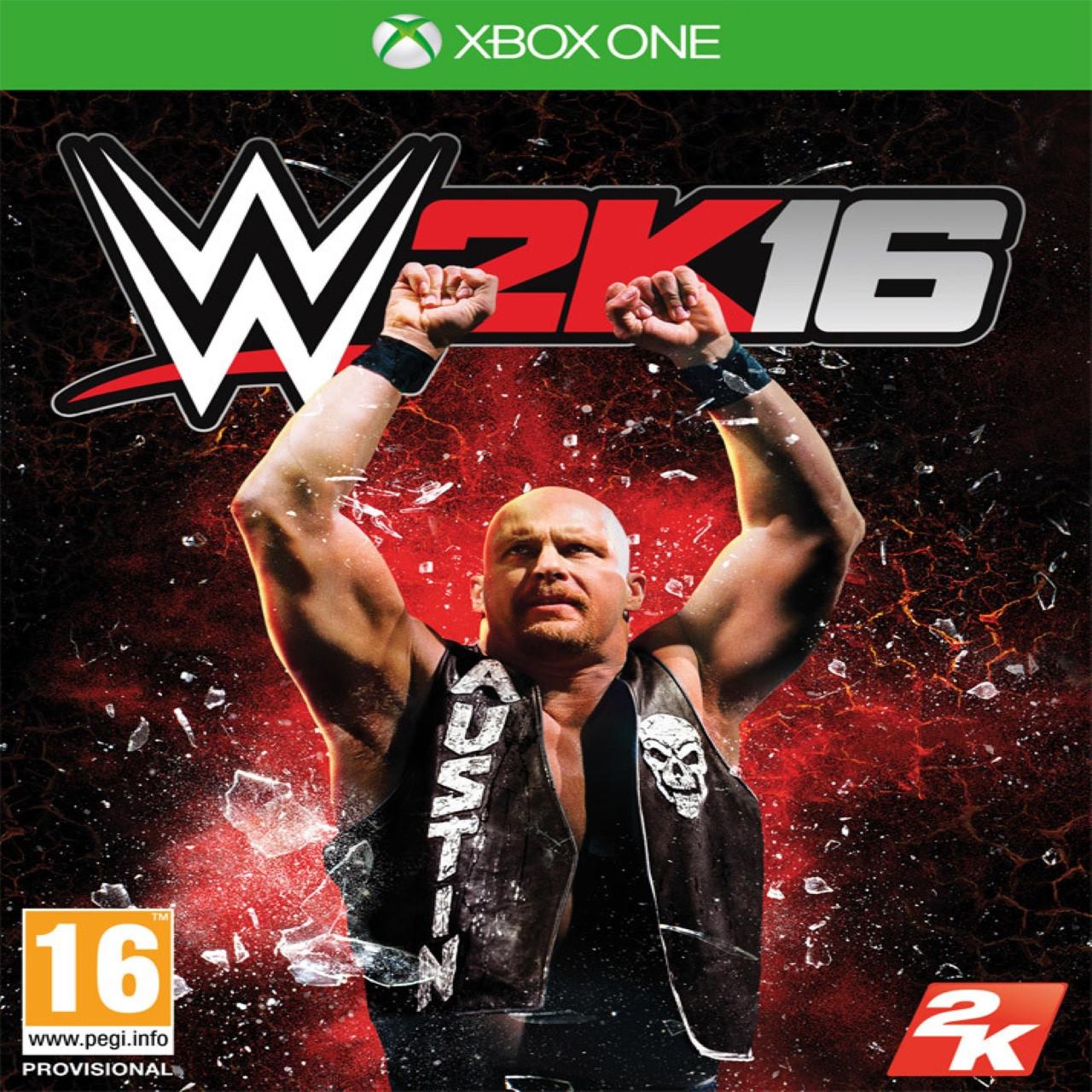WWE 2K16 (англіська версія) XBOX ONE (Б/В)