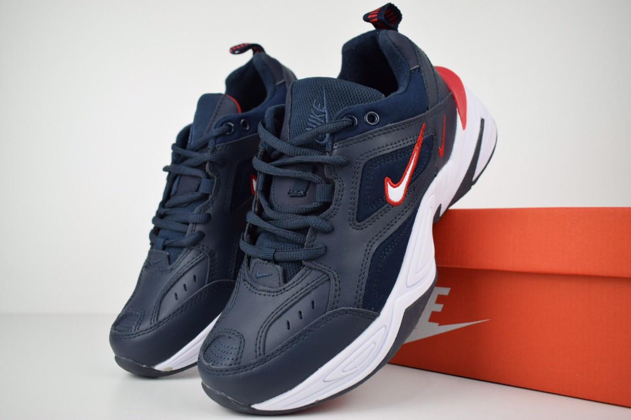 ffefea69 Мужские кроссовки в стиле Nike M2K Tekno, синие. Код товара: ОД - 1679