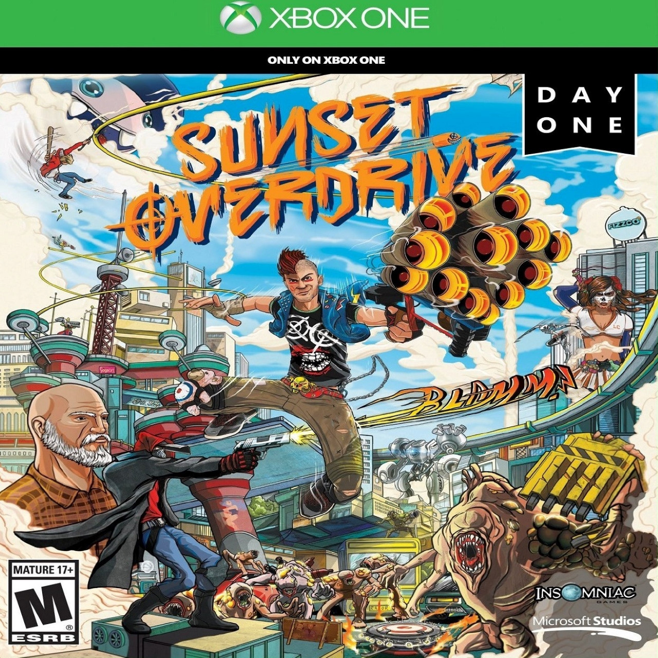 Sunset Overdrive RUS XBOX ONE (NEW)
