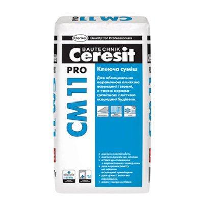 Клей для плитки Церезіт СМ 11 Про (Ceresit CM 11 Pro) (27 кг)