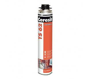 Пена монтажная профессиональная CERESIT TS-62 PRO (Церезит TS 62 PRO) (750 мл)