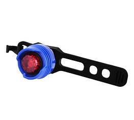 Фонарь велосипедный FH-016-1LED, 2хCR2032, Waterproof