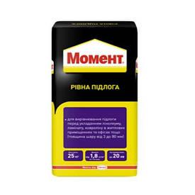 Самовыравнивающаяся смесь МОМЕНТ Ровный пол 3-80 мм (25 кг)