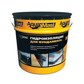 Aquamast Мастика битумная для фундамента готовая 18 кг.