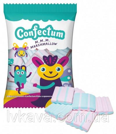 Жевательный зефир Confectum Kids с ароматом клубники и банана  , 50  гр