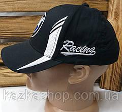 Подростковая стильная кепка с вышивкой логотипа автомобиля NMW, 52-54 размер, с регулятором, фото 3