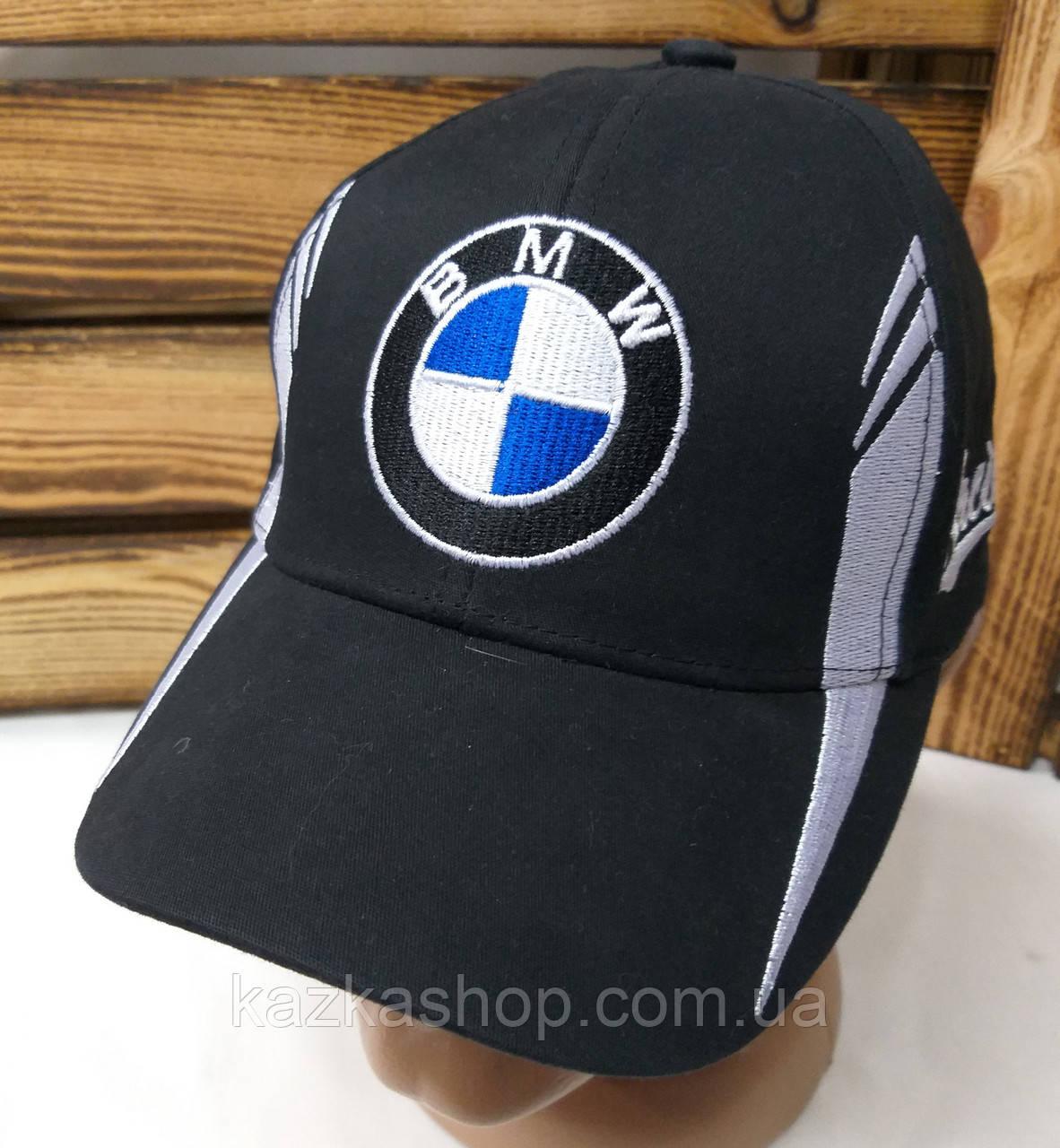Подростковая стильная кепка с вышивкой логотипа автомобиля NMW, 52-54 размер, с регулятором