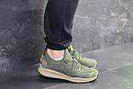 Мужские кроссовки Puma (темно-зеленые) , фото 4