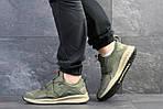 Мужские кроссовки Puma (темно-зеленые) , фото 5