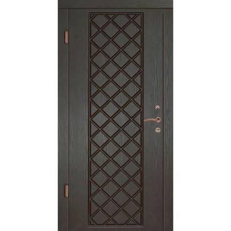 Двери квартирные, серия Люкс, модель Мадрид, гнутый профиль, коробка 100 мм, полотно 76 мм, Гардиан 1001, фото 2