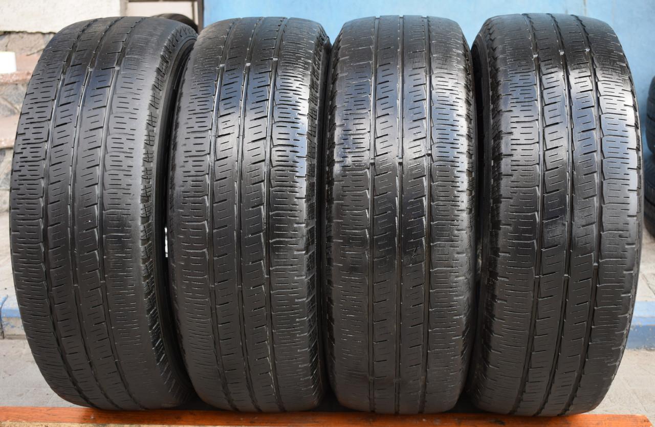 Шины б/у 225/70 R15C Pirelli Chrono, всесезон, 5 мм, комплект