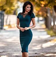 РОЗПРОДАЖ! Приталена сукня по фігурі, фото 1