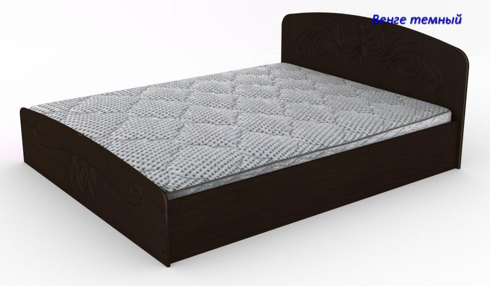 Двуспальная кровать Нежность- 160 МДФ