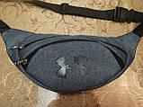 Сумка на пояс UNDER ARMOUR ткань мессенджер pvc спортивные барсетки сумка только опт, фото 2