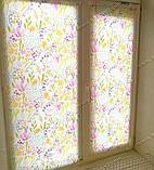 Рулонные шторы Акварель розовый, фото 5