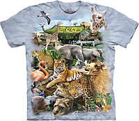 3D футболка The Mountain -  Zoo Puzzle